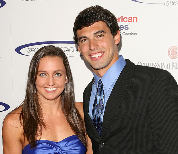 Rebecca Soni and Ricky Berens