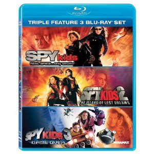 Spy Kids triple Bluray