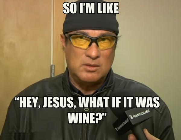 Steven Seagal is Jesus