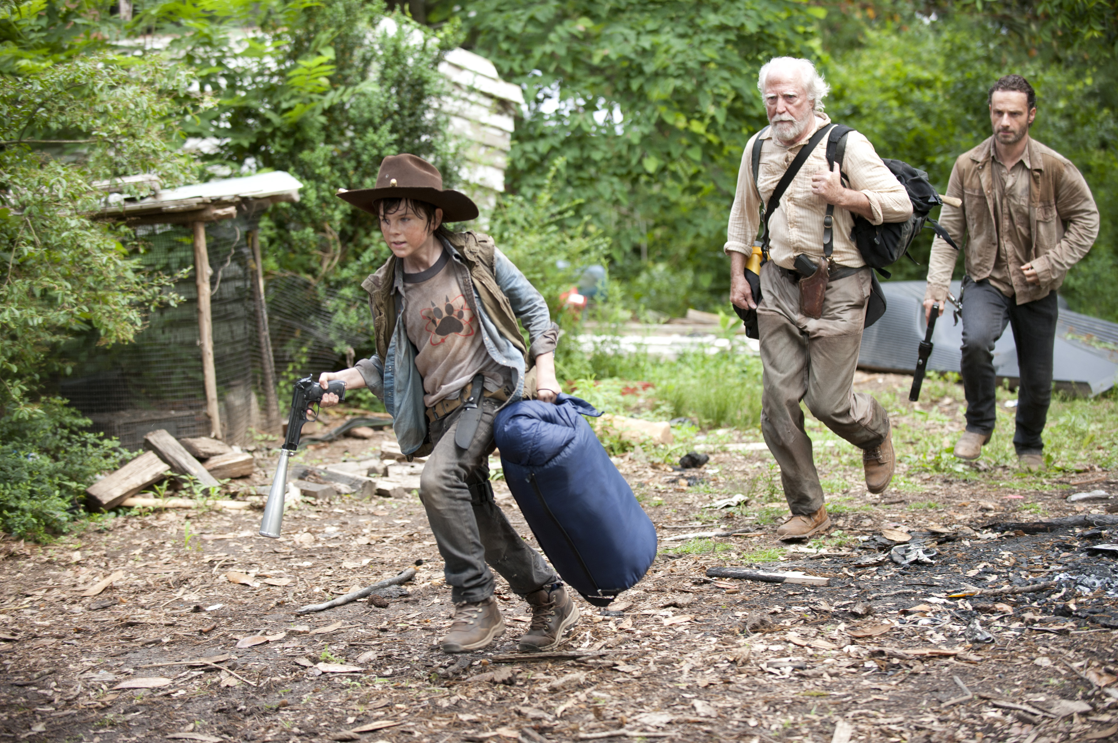 Walking Dead Season 3 Sneak Peek