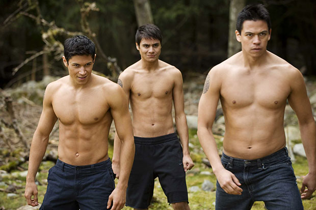 twilight shirtless