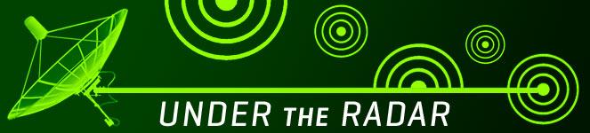 Under the Radar Banner