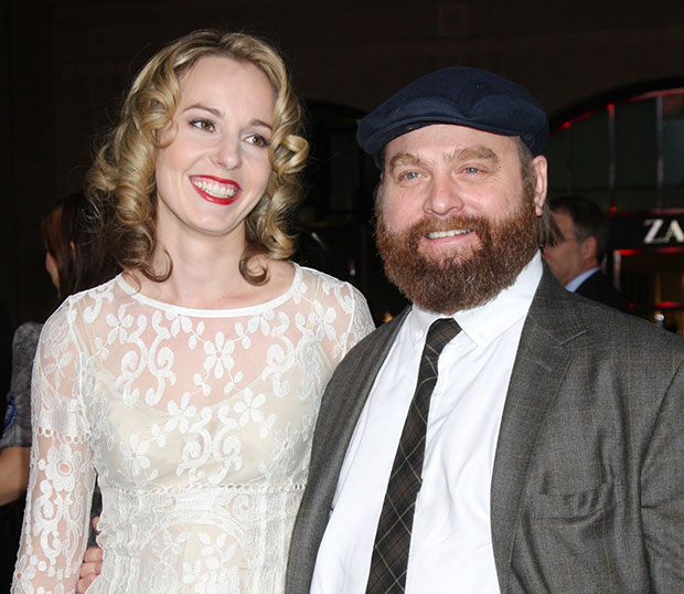 Zach Galifianakis Qunn Lundberg Marry