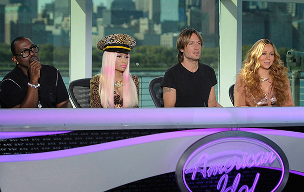 American Idol new judges Nicki Minaj, Mariah Carey and Keith Urban