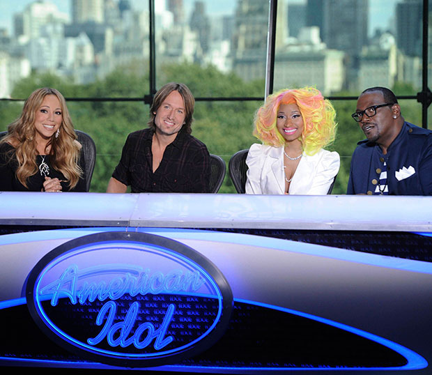 Nicki Minaj and Mariah Carey bicker during New York Auditions