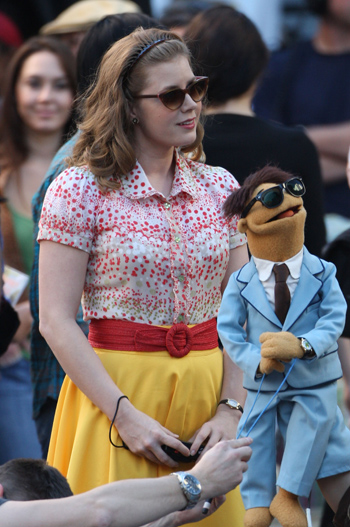 Amy Adams Wardrobe The Muppets