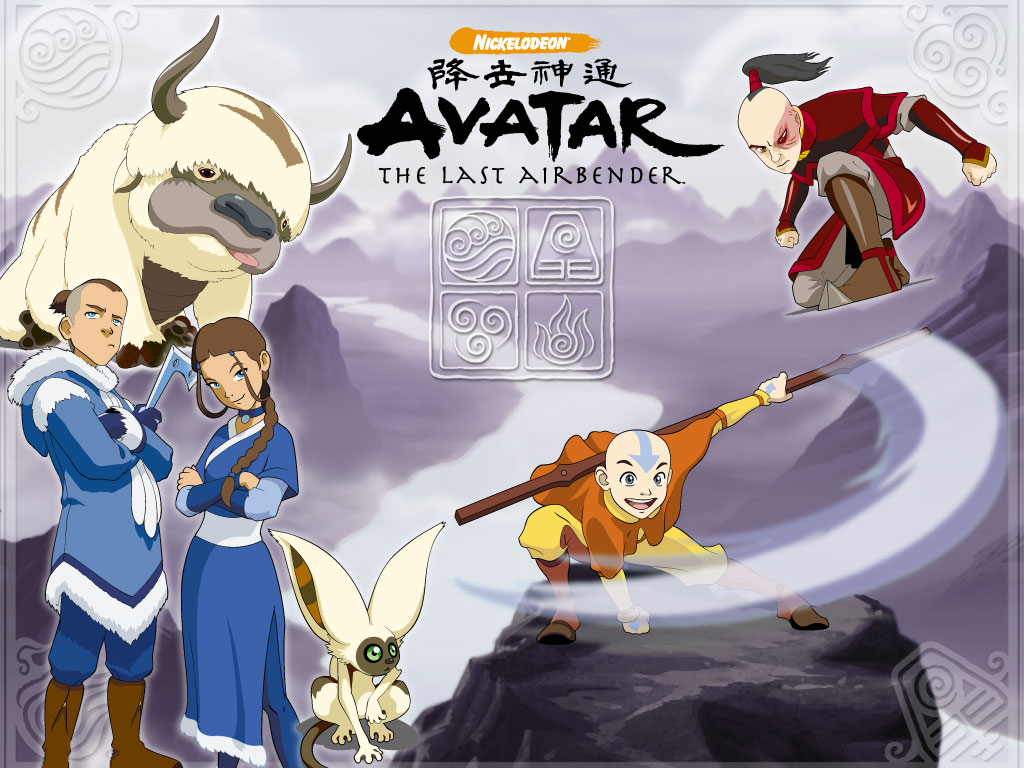 Avatar The Last Airbender Season 1-3