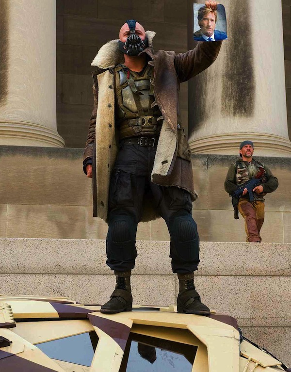 Bane Scene Cut From The Dark Knight Rises