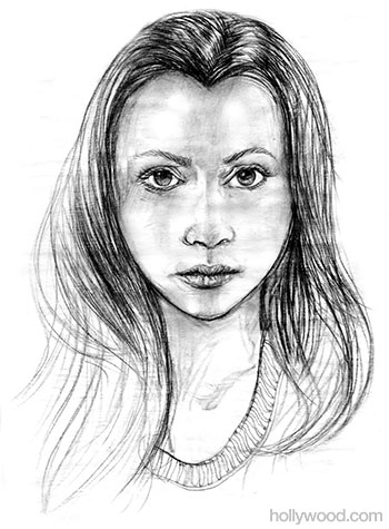 Bella Swan Sketch, Twilight