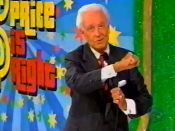 Bob Barker Price is Right Snub