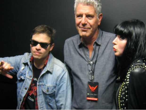 Anthony Bourdain at SXSW with Sleigh Bells