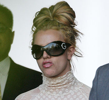 Britney Spears crazy hair