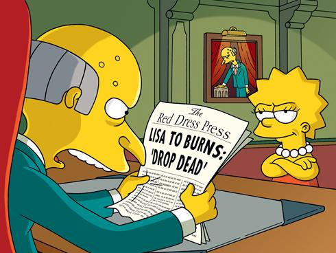 Mr. Burns The Simpsons