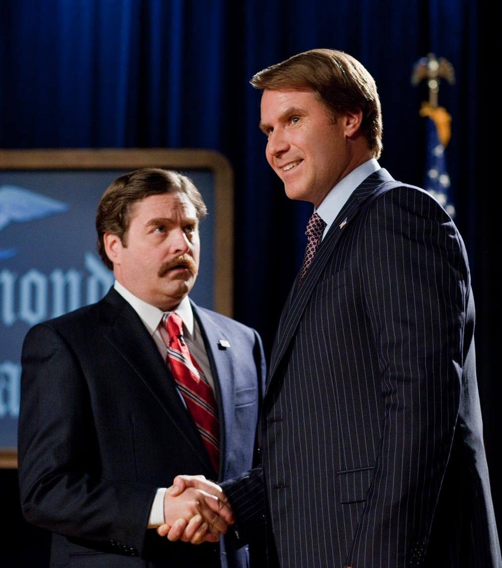 The Campaign: Will Ferrell, Zach Galifianakis