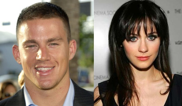 Channing Tatum and Zooey Deschanel