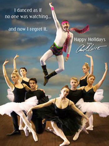 chuck lorre holiday card