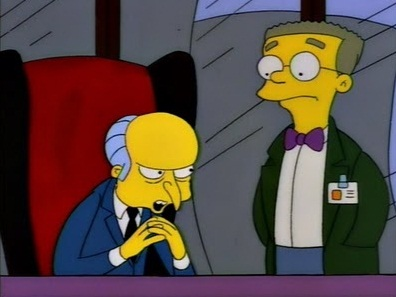 Burns and Smithers