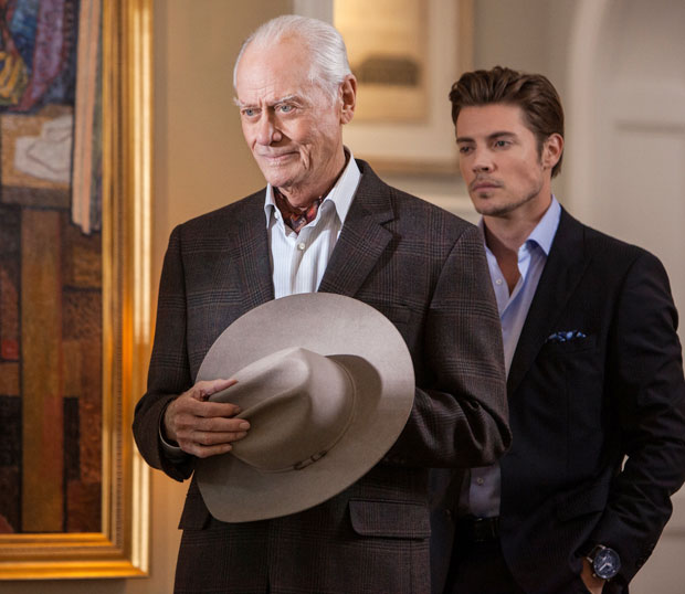 Larry Hagman JR Dallas Funeral