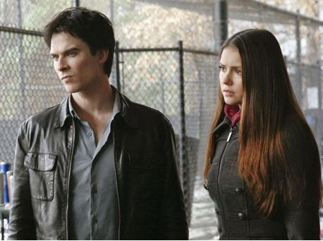 Damon and Elena Season 3 TVD