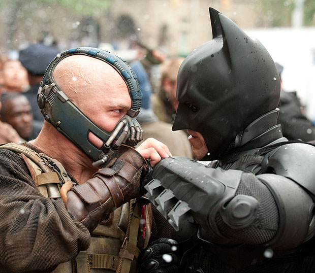 dark knight rises special features
