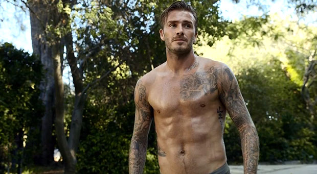 david beckham underwear commercial