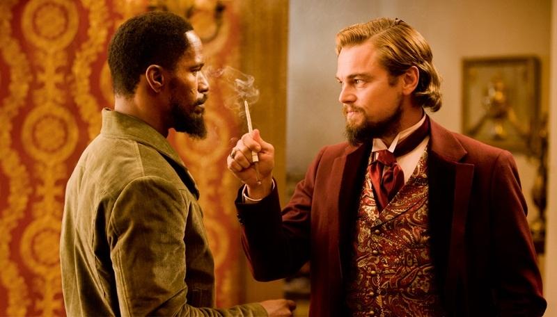 Django Unchained: Jamie Foxx, Leonardo DiCaprio