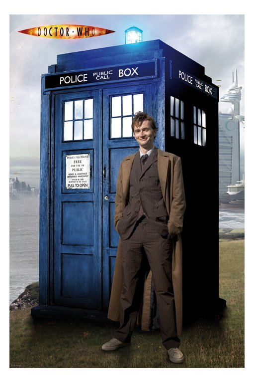 Doctor Who David Tennant Tardis