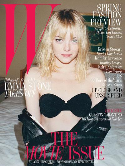 Emma Stone, W Magazine