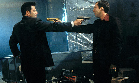 John Travolta and Nicolas Cage face off in Face Off