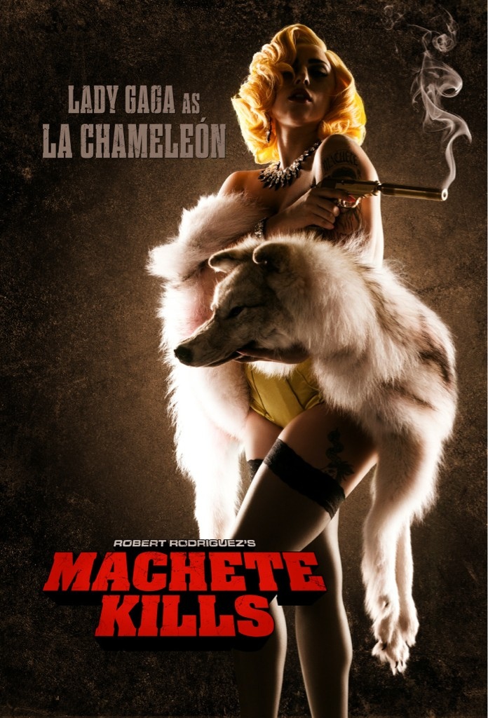 Lady Gaga La Chameleon Machete Kills