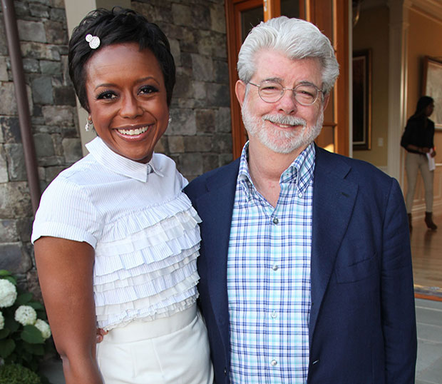 George Lucas Engaged