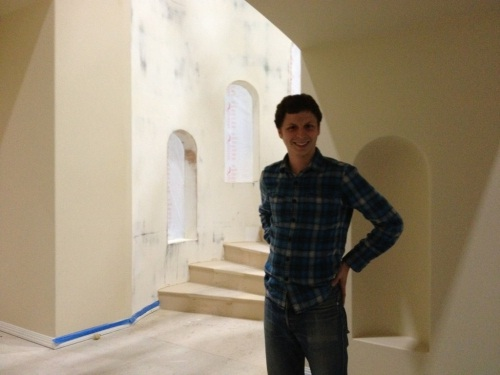 George Michael Michael Cera on Arrested Development Set