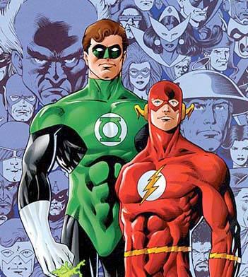 Green Lantern and The Flash