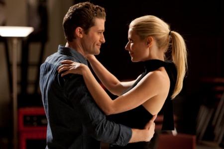 Gwyneth Glee Tango Kiss