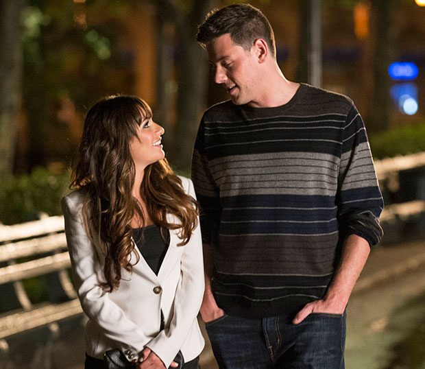 Glee Lea and Cory Finchel