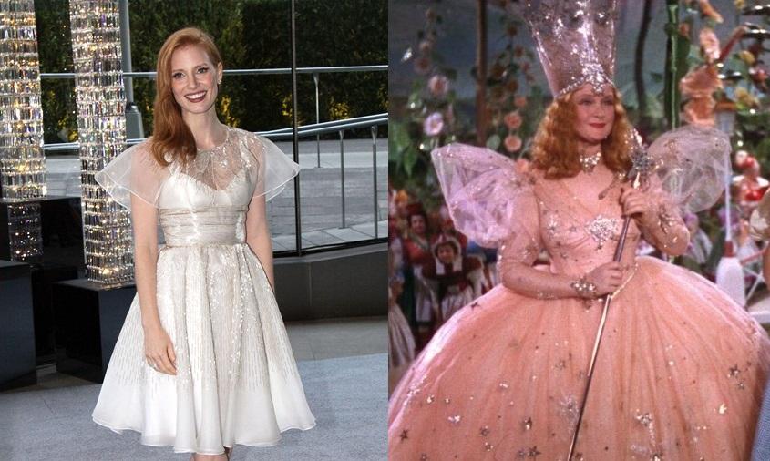 Jessica Chastain/Glinda