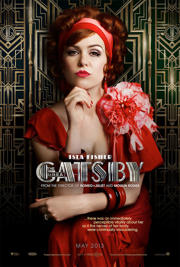 Isla Fisher, the great gatsby