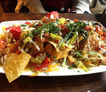 Guy's American Kitchen guytalian nachos
