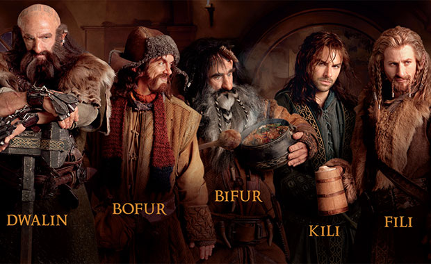 Hobbit dwarves