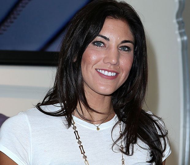 hope solo married