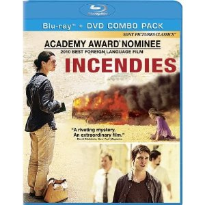 Incendies Bluray