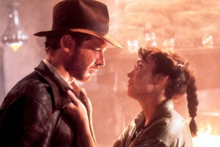 Raiders of the Lost Ark Indy and Marion