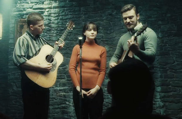 Justin Timberlake and Carey Mulligan in Inside Llewyn Davis