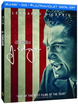 J. Edgar Blu-ray Box Art