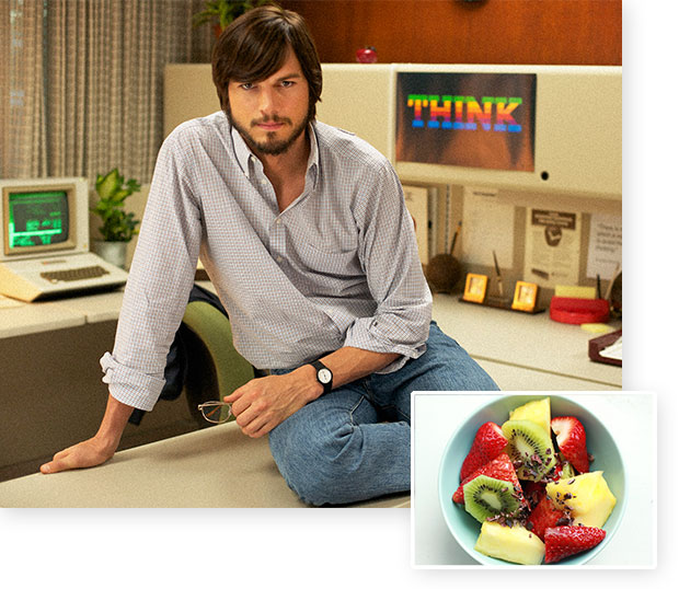 Ashton Kutcher - Steve Jobs Diet