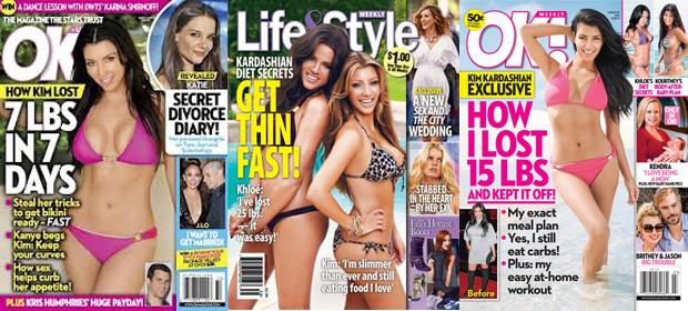 Kardashian Diet covers 5