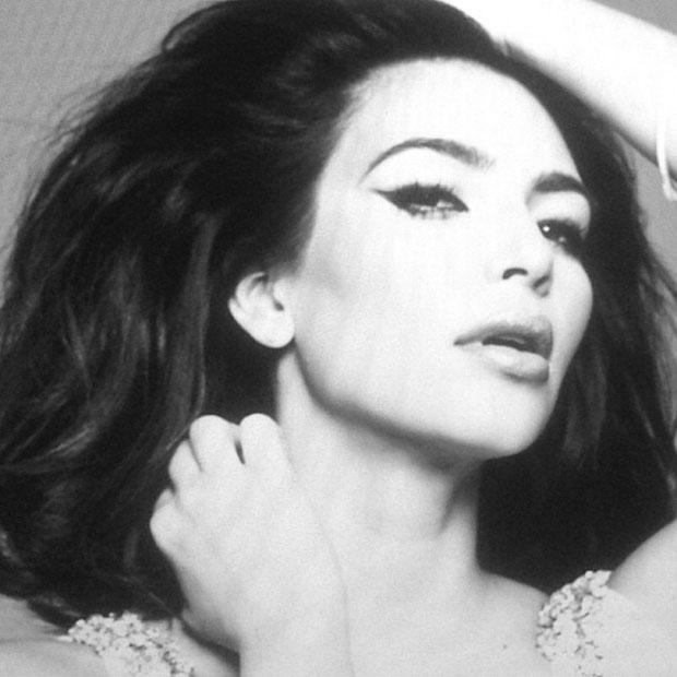 Kim Kardashian Sophia Loren