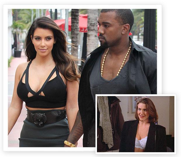 Kim Kardashian/Sue Ellen Mishke