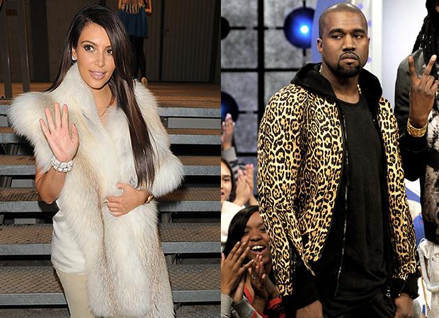 Kim and Kanye baby style