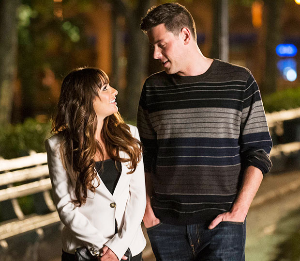 Glee Rachel and Finn